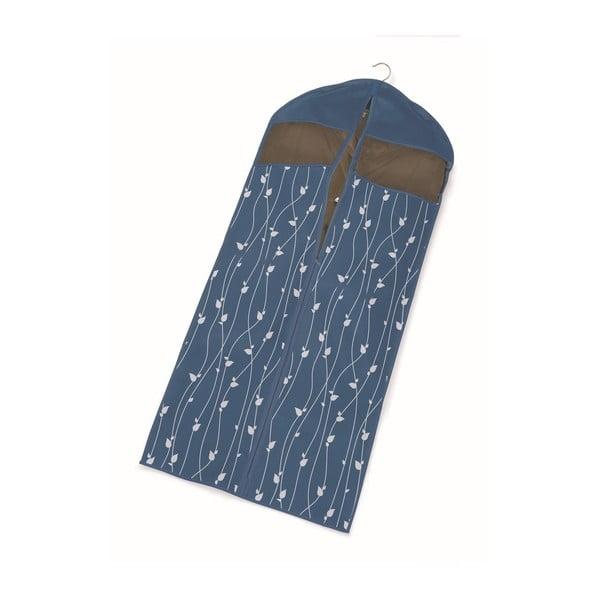 Modrý obal na šaty Cosatto Leaves, délka137cm