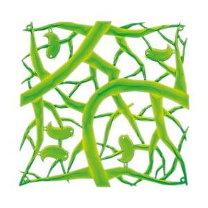 Zelený dekorativní plastový panel Koziol
