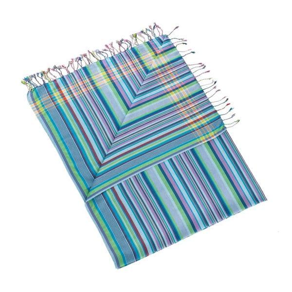 Ručník/pareo Inci Blue, 100x178 cm
