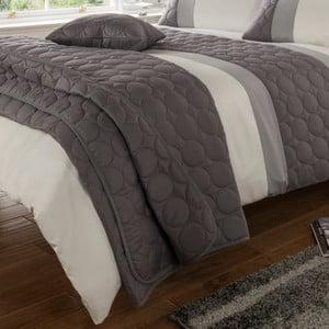 Přehoz přes postel Universal Charcoal, 220x230 cm