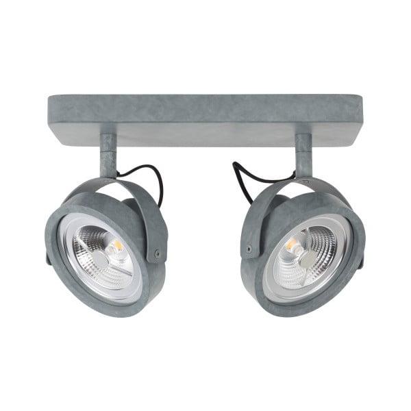 Šedé stropní LED svítidlo Zuiver Dice2