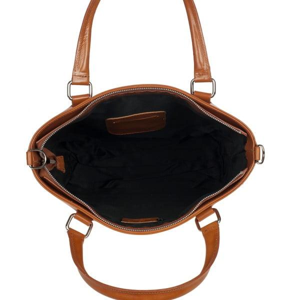 Kožená kabelka Ore Diece Albettone, medová
