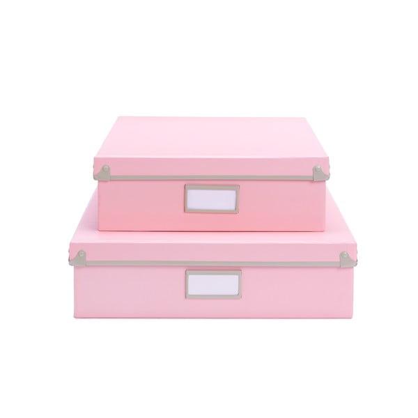 Úložná krabice Design Ideas Frisco Pink M