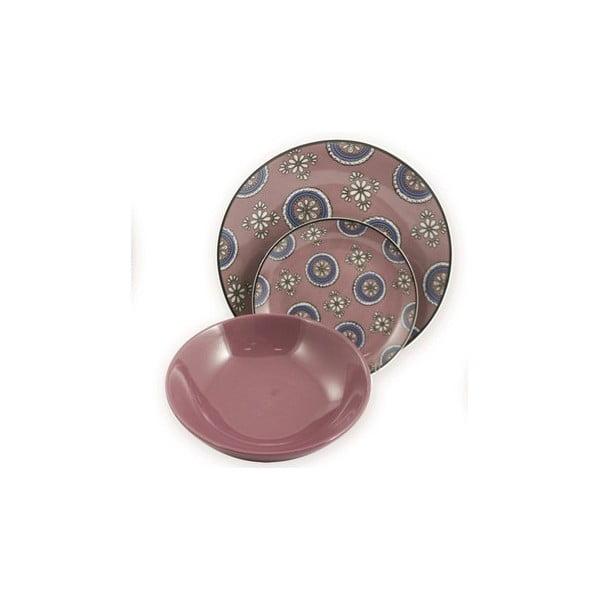 Talíř Bali fialový, 19 cm