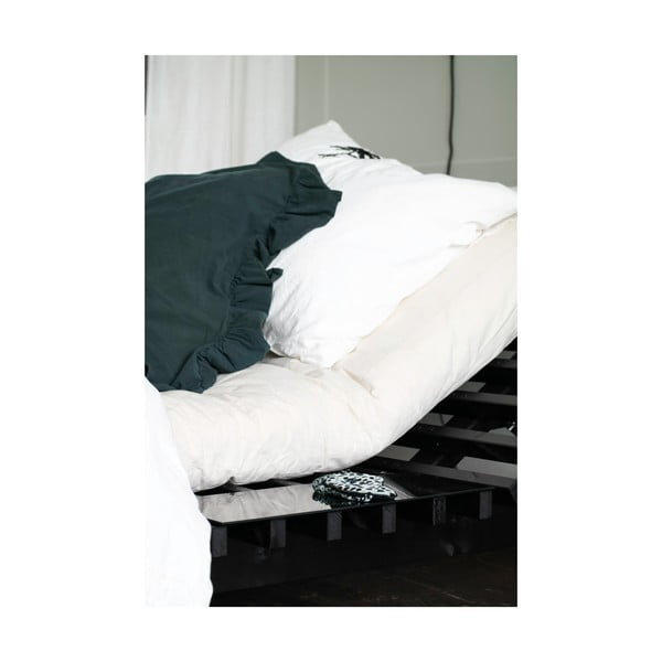 2 postranní stolky pro postel Karup Blues Black