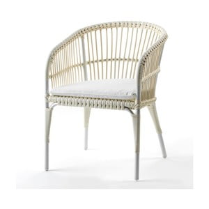 Krémová židle Thai Natura Woven