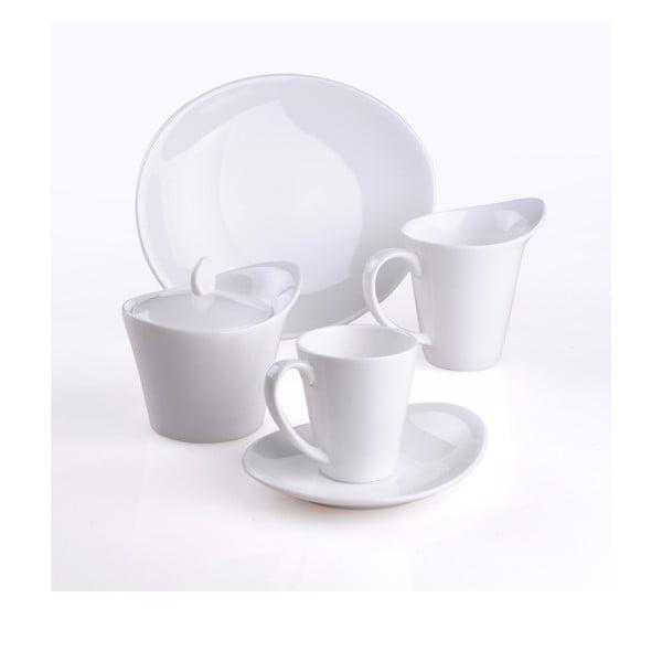 Porcelánová kávová sada, 20dílná