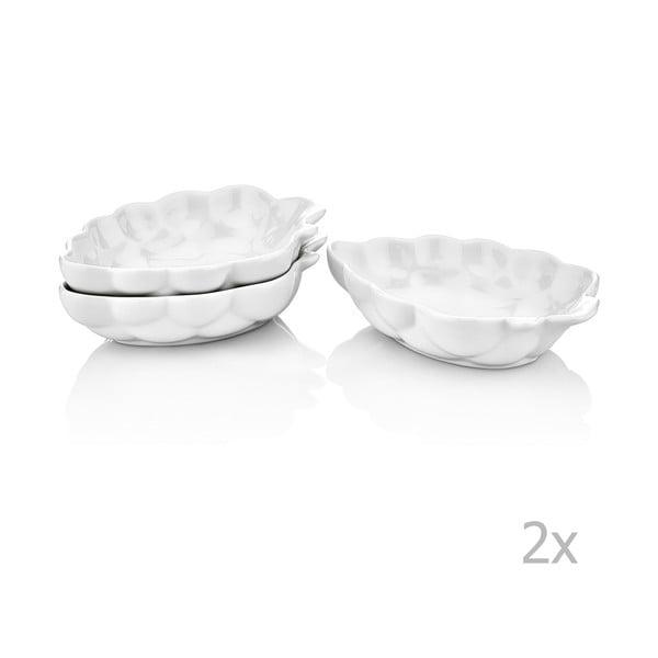 Sada 6 porcelánových misek Tassos
