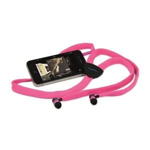 Sluchátka hi-String, růžová