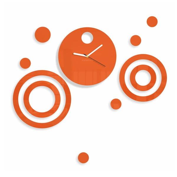 Hodiny z plexiskla Imagine Orange