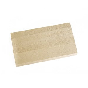 Prkénko z bukového dřeva Orion Square Brown, 30 x 19 cm