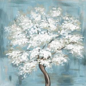Obraz na plátně Marmont Hill Sakura Blau, 61 x 61 cm