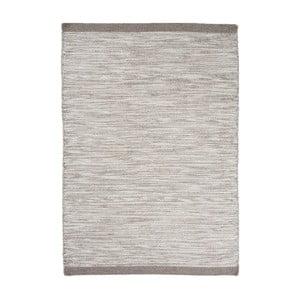 Vlněný koberec Asko, 140x200 cm, stříbrný