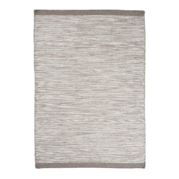 Vlněný koberec Asko, 200x300 cm, stříbrný