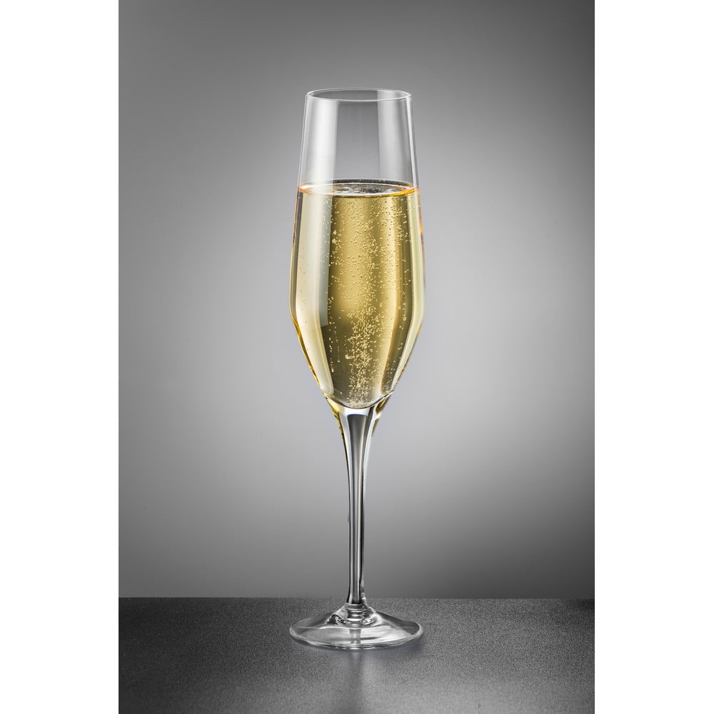 Sada 2 sklenic na šampaňské Crystalex Amoroso, 200 ml