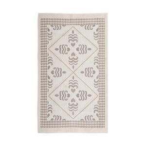 Krémový bavlněný koberec Floorist Flair, 80x300cm