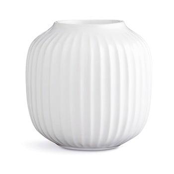 Sfeșnic din porțelan pentru lumânările de ceai Kähler Design Hammershoi, ⌀ 9 cm, alb de la Kähler Design