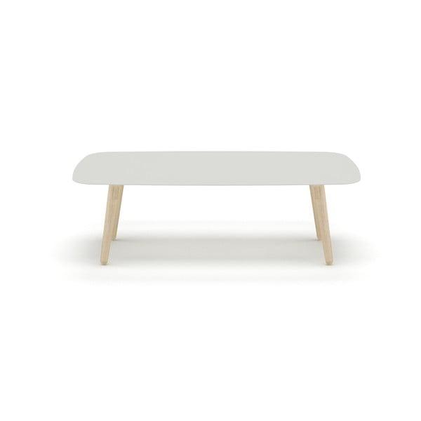 Stolek MEME Design Nord Rettangolare Bianco