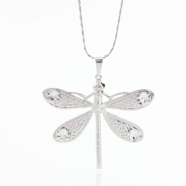 Náhrdelník se Swarovski Elements Laura Bruni Dragonfly