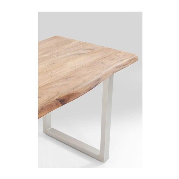 Jídelní stůl z akáciového dřeva Kare Design Pure, 140 x 80 cm