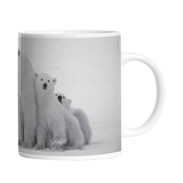 Keramický hrnek Polar Family, 330 ml