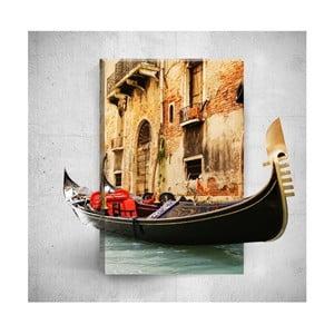 Nástěnný 3D obraz Mosticx Boat Ride, 40 x 60 cm