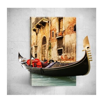 Tablou de perete 3D Mosticx Boat Ride, 40 x 60 cm de la Mosticx