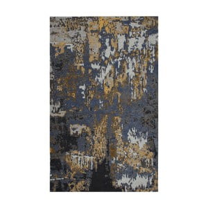 Modrošedý koberec Eco Rugs Lovise, 80x150cm