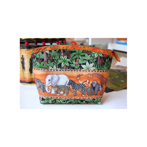 Kosmetická taštička z chráněné dílny Via Roseta, zvířátka