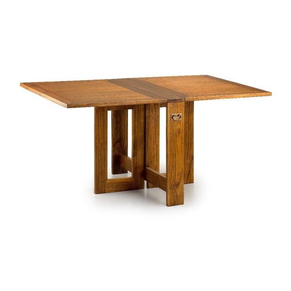 Skladací jedálenský stôl z dreva Mindi Moycor Star, 165 × 50 cm