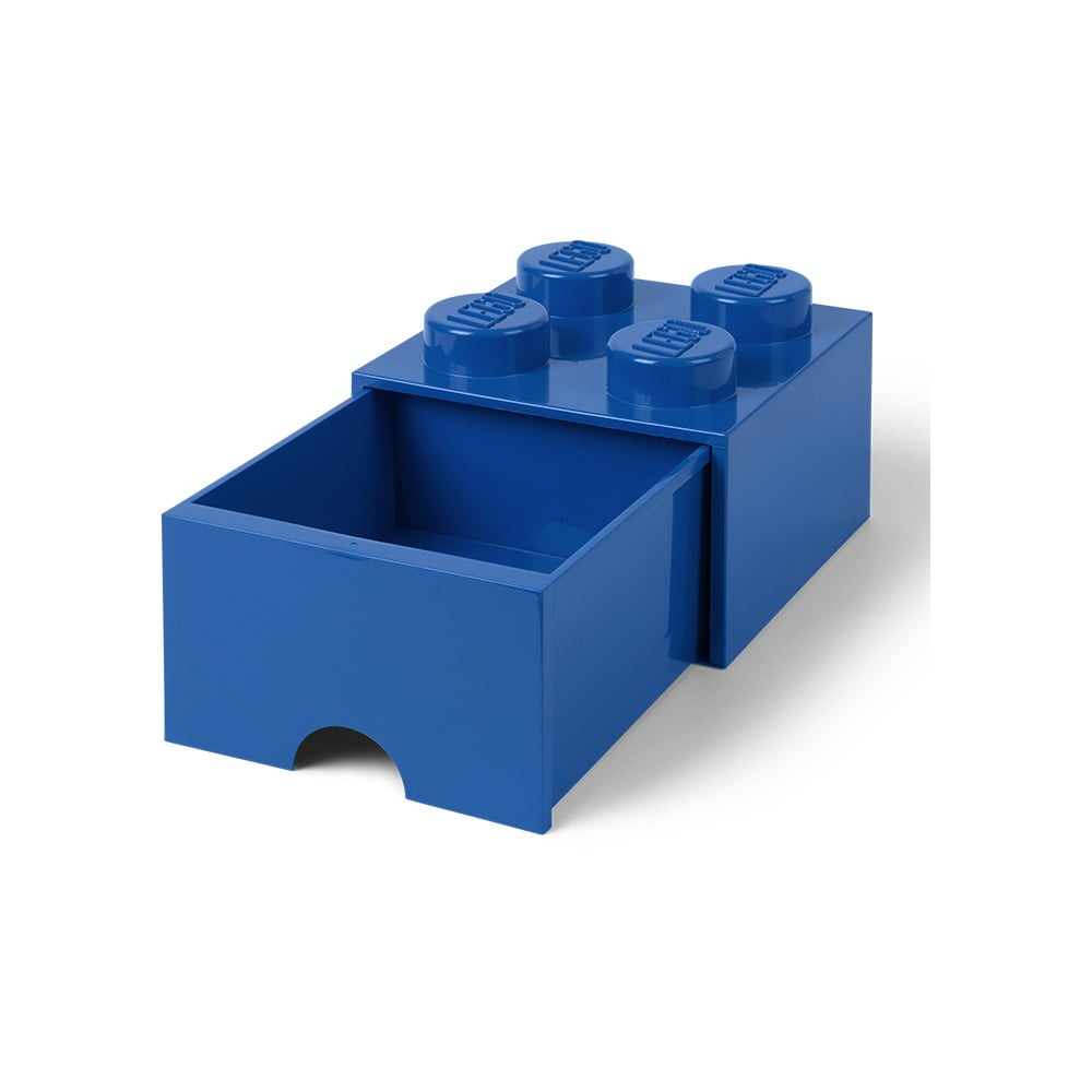 Modrý úložný box se šuplíkem LEGO®