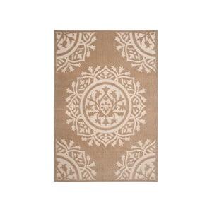 Béžový koberec vhodný do exteriéru Safavieh Delancy, 160 x 231cm