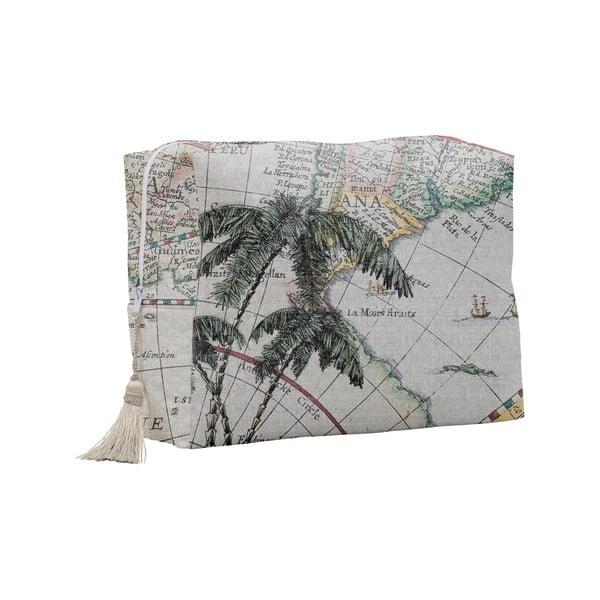 Kozmetická taštička Linen Couture Palm Trees