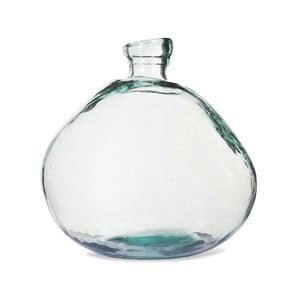 Váza z recyklovaného skla Garden Trading Wells Bubble Wide, ø 33 cm