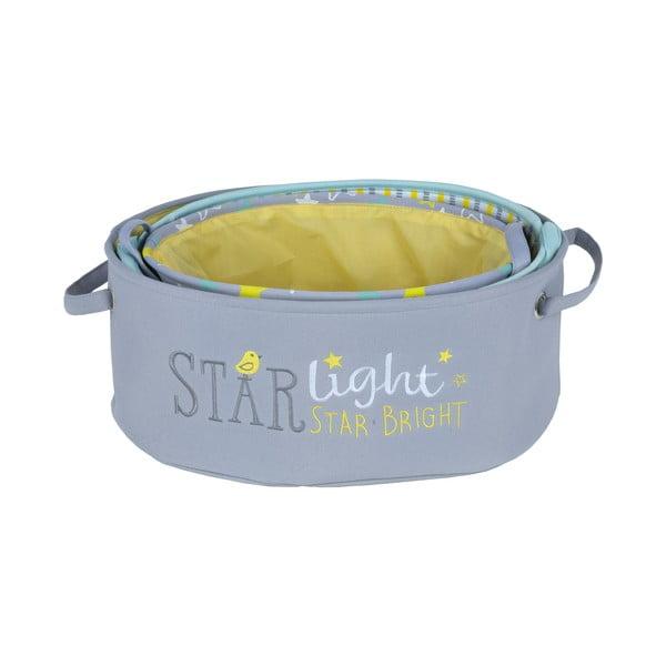Sada 3 dětských úložných boxů Tri-Coastal Design Starlight