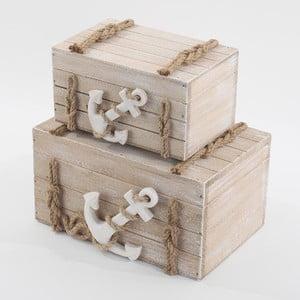 Dvě úložné krabice Kotva
