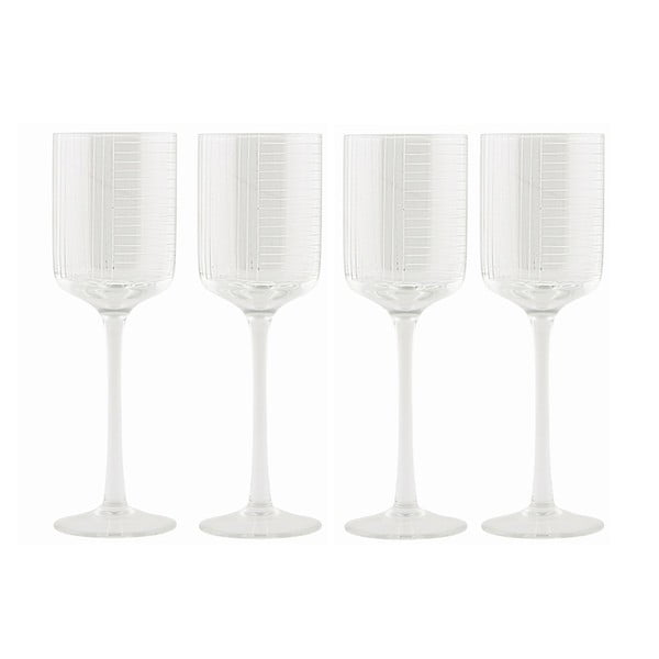 Set skleniček na víno White Wine, 4 ks