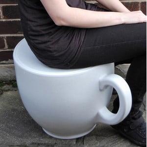 Židle Tea Cup, bílá