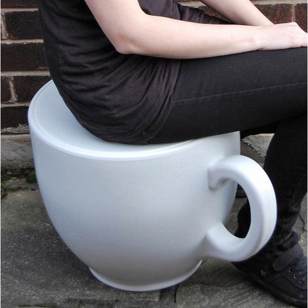 Židle Tea Cup, červená