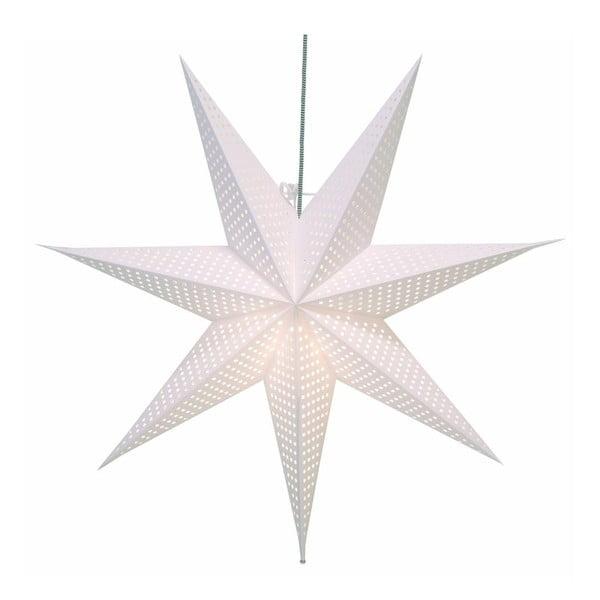 Závěsná svítící hvězda Huss White, 60 cm