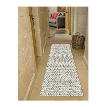 Covor Floorita Knit Grey Ochre, 60 x 115 cm