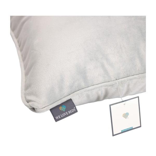Față de pernă WeLoveBeds Frozen Silver, 40 x 60 cm