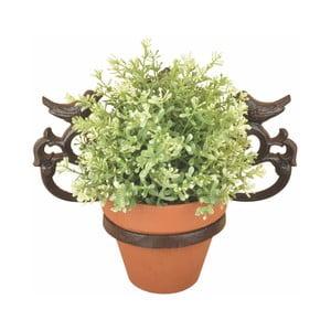 Nástěnný litinový držák na květináč Ego Dekor Botanika
