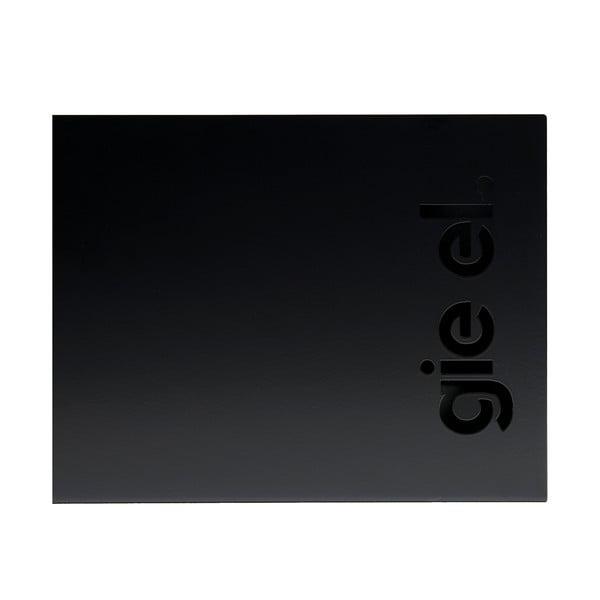 Stojan na časopisy Magazine Box 39x20 cm, černý