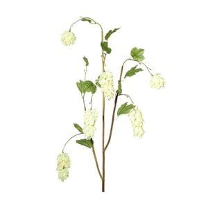 Umělá květina s bílými květy Ixia Lupulus, výška120cm
