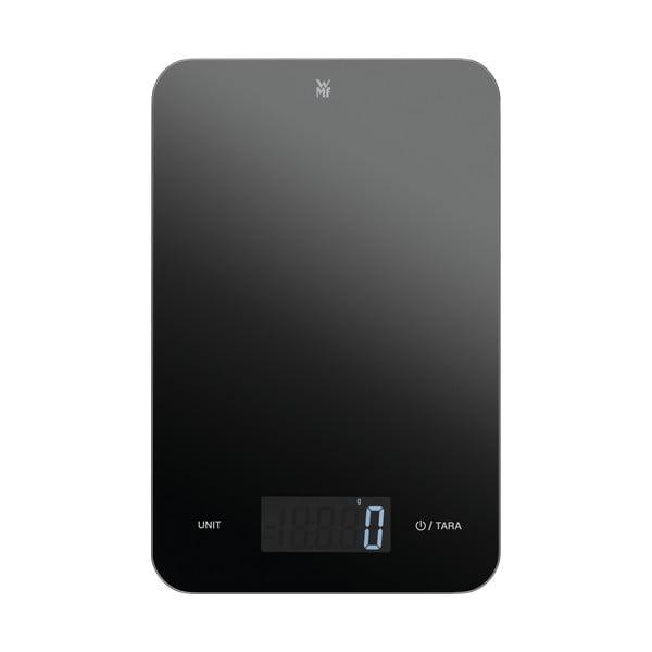 Cromargan® fekete digitális konyhai mérleg - WMF