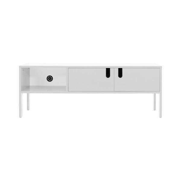 Bílý TV stolek Tenzo Uno, šířka 137cm