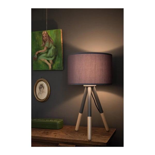 Tmavě šedá stolní lampa Zuiver Highland