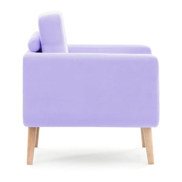 Pastelově fialová dvoumístná pohovka Vivonita Ina