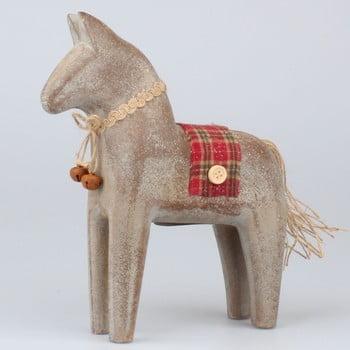 Cal decorativ din lemn Dakls imagine